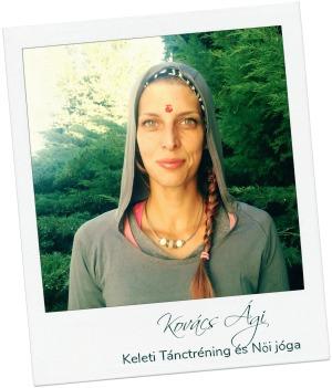 Kovács Ági | Női jógaoktató