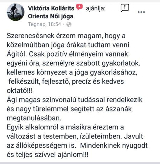 Viki véleménye | Orienta.hu