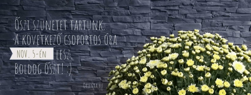 Őszi szünet 2019 | Orienta.hu