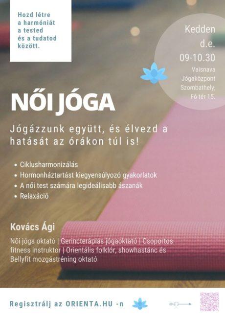 Női jóga plakát 2020 | Orienta.hu