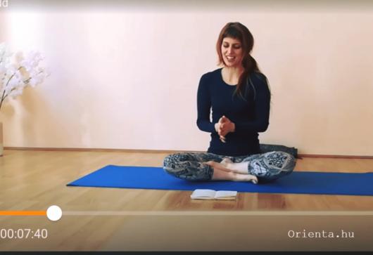 Online női jóga óra | Orienta.hu