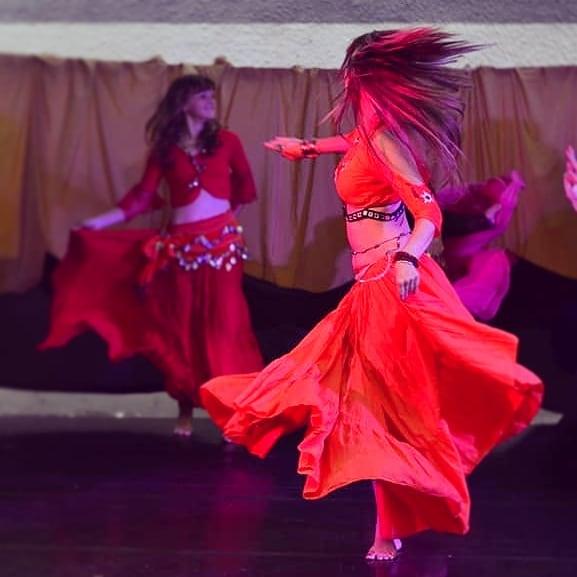 Kovács Ági orientális tánc | Fotó Süle Róbert 2019