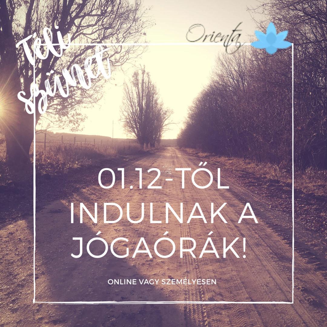 Indulnak a jógaórák | Orienta.hu