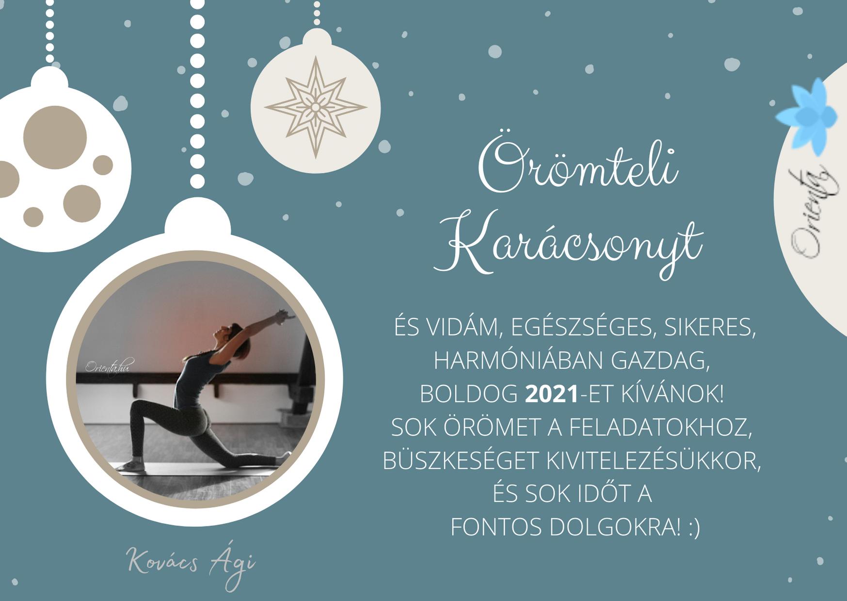 Örömteli Karácsonyt és 2021-et! Orienta.hu
