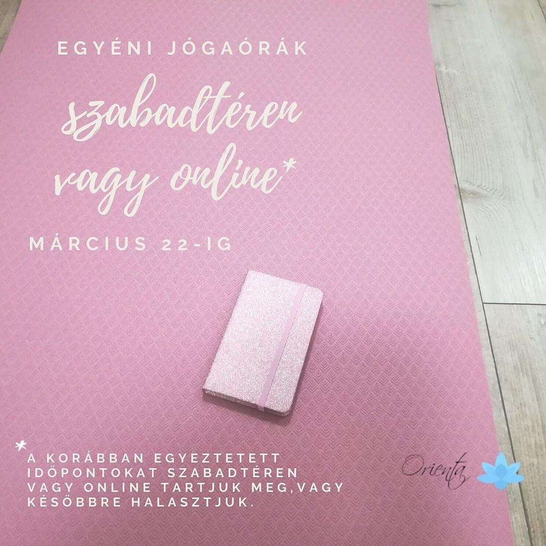 rózsaszín jógamatracon jógahírek